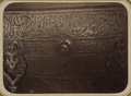 Syr-Darya Oblast. City of Turkestan. Beginning of the Inscription Bordering the Exterior of the Cauldron Located in the Tomb of Saint Sultan Akhmed Iassavi WDL3595.png