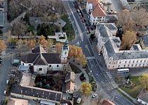 Szent József katolikus templom és Kiskőrös városháza, Kiskőrös1.jpg