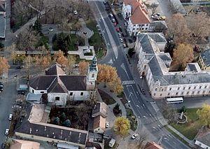 Kiskőrös - Aerial view