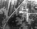 Tököl. A repülőtér bombázás után, a Dunai Repülőgépgyár Rt. szerelőcsarnoka 1944-ben. Fortepan 15909.jpg