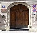 Tür in Regensburg - August Bebel.jpg