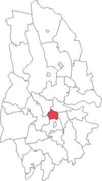 Mosjö landskommune i Örebro amt
