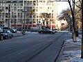 TTC bus 7793 proceeding west on the Esplanade, 2015 01 13 (4) (16279998642).jpg