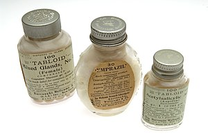 Tabloid (newspaper format) - Tabloid products: Burroughs Wellcome and Company
