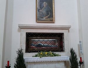 Thomas of Celano - Incorrupt remains in the tomb.