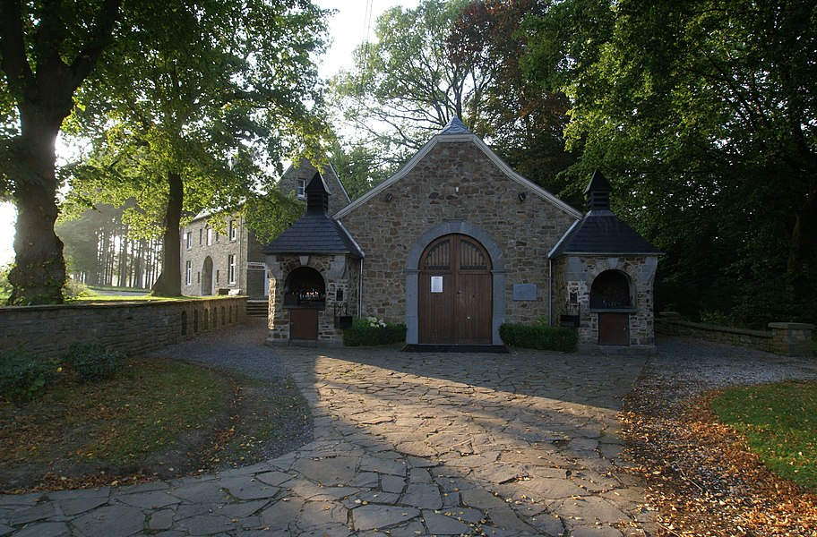 "Tancrémont (Belgium):Catholic ""Good Old God Chapel"""