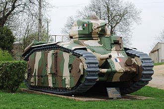 Philippe Leclerc de Hauteclocque - A Char B1 tank. French tanks were usually given names by their crews.