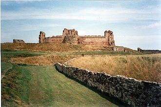 Alexander of Islay, Earl of Ross - Tantallon Castle, the location of Alexander's second captivity.