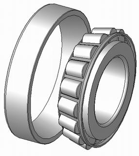 Tapered roller bearing Roller