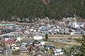 Tarumi Station from Usuzumi Park.jpg