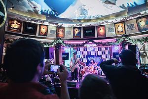 Arcadetar - Teapot Industries playing the Arcadetar at Hard Rock Cafe Rome, 10 Dec 2013