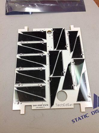 TechEdSat - TechEdSat Solar Panel
