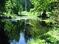 Teich im Schlosspark Buonas.JPG