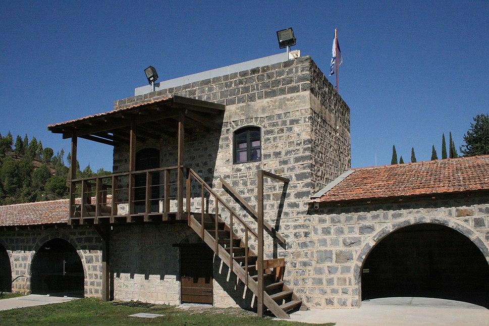 Tel Hai - Courtyard (3)