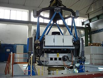 VLT Survey Telescope - The VST at the integration site in Italy