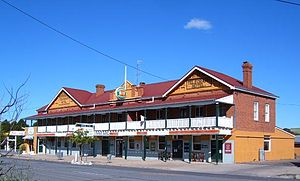 Gunning, New South Wales - Image: Telegraph Hotel Gunning