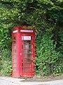 Telephone box, Doddiscombsleigh - geograph.org.uk - 1308758.jpg