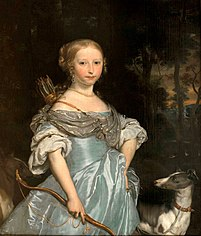 Portrait of a Young Woman as Diana