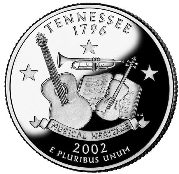 Datei:Tennessee quarter, reverse side, 2002.jpg