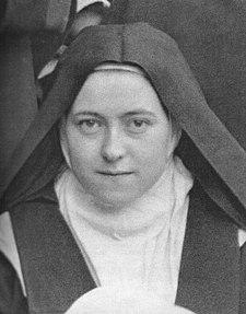 Sor Teresa del Niño Jesús y de la Santa Faz en una foto original de 1896