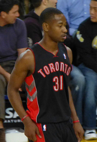 Terrence Ross - Ross with the Toronto Raptors in March 2013