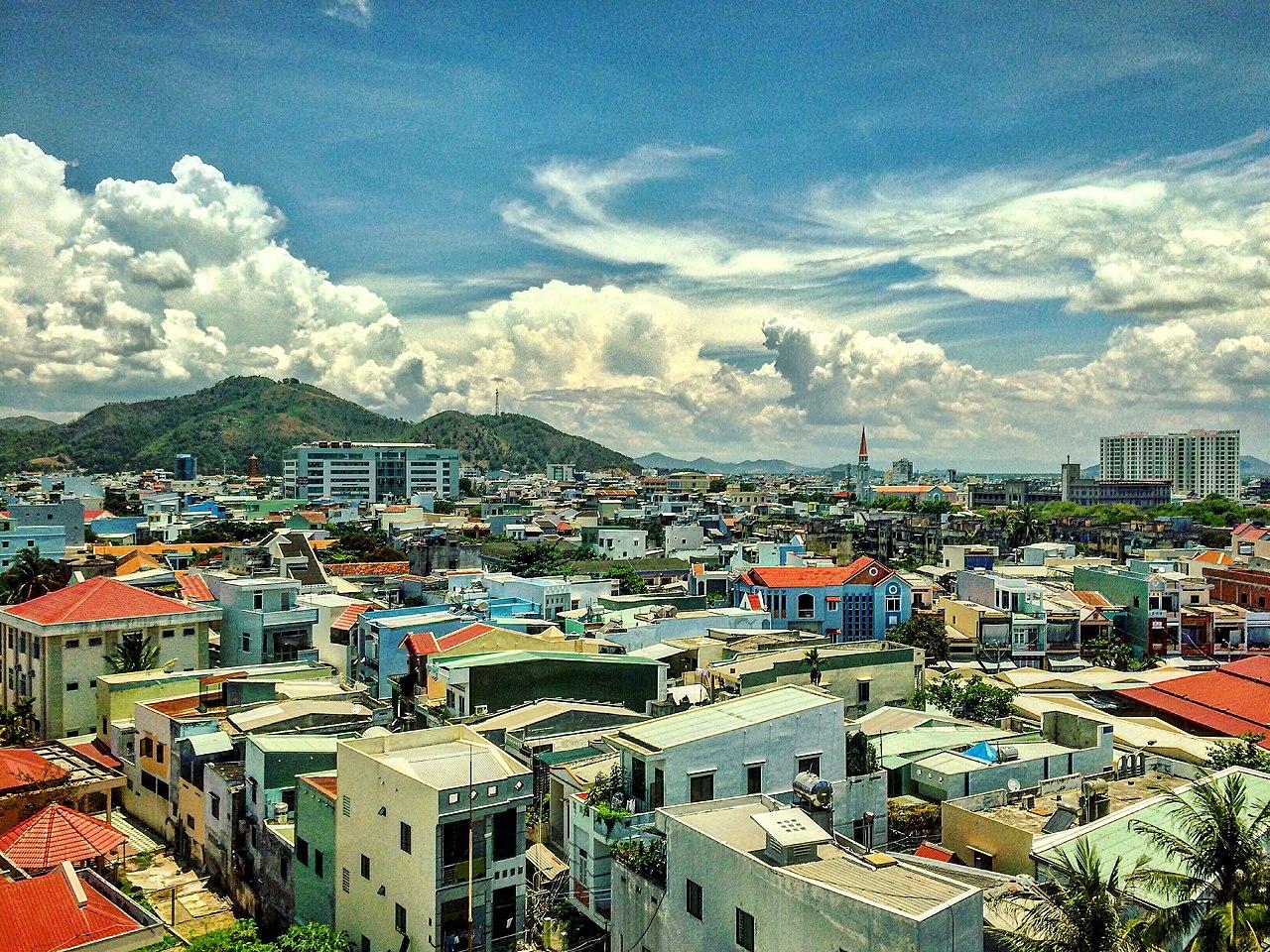 Thành phố Quy Nhơn, Bình Định. Ảnh Wikipedia