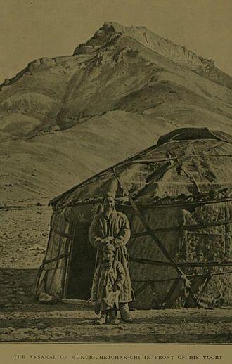 Aqsaqal - Aksakal in 1909.
