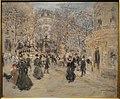 The Boulevard by Jean-Francois Raffaelli, c. 1900-1905 - Corcoran Gallery of Art - DSC01364.JPG