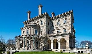 The Breakers Vanderbilt mansion in Newport, Rhode Island, US