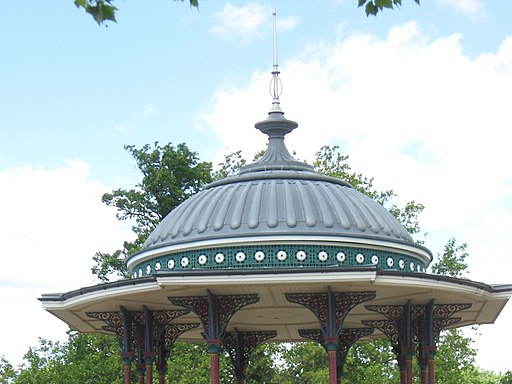 The Dome on the Victorian Bandstand on Clapham Common - geograph.org.uk - 1325255