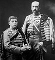 The Duke of Calabria and Carlos de Borbón-Dos Sicilias.jpg
