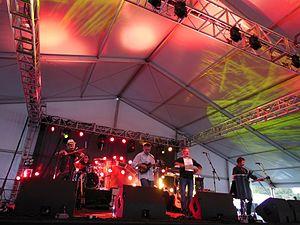 Dublin Irish Festival - The Elders, an Irish American folk rock band, performing at the 2012 Dublin Irish Festival.