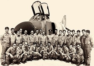 History of the Iranian Air Force - The first F-4D Phantom II squadron of Iran, 1971.