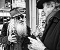 The Free Radicals Poet Laureate Jack Hirschman & Jewish Bohemian Dovid Krafchow discuss Cabala (5465779169).jpg