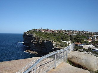 The Gap (Sydney) - Image: The Gap looking south