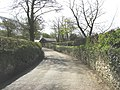 The Glynllifon road climbing towards disused farm buildings - geograph.org.uk - 788527.jpg