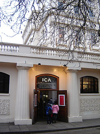 Institute of Contemporary Arts - Image: The Institute of Contemporary Arts, London entrance