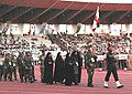 The Iranian contingents marching past at the opening ceremony of Military World Games, in Hyderabad on October 14, 2007.jpg