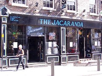 Allan Williams - Image: The Jacaranda
