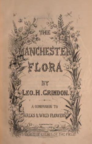 Leopold Hartley Grindon - Frontispiece to The Manchester Flora, a Leo. H. Grindon book published in 1859.