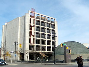 Manitoba Museum - Image: The Manitoba Museum and Planetarium, Winnipeg, Manitoba