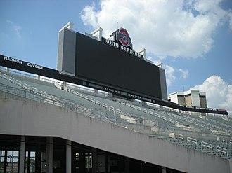 The Towers (Ohio State) - Image: The Ohio State University June 2013 22 (Ohio Stadium)