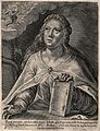 The Persian sibyl. Engraving by C. de Passe II after C. de P Wellcome V0035894.jpg