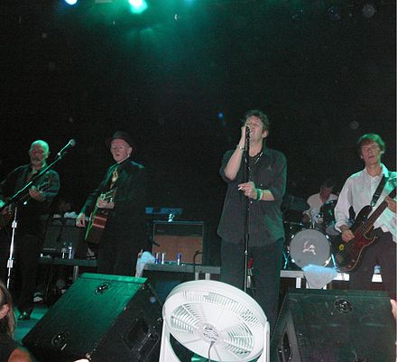 The Pogues, en 2006.