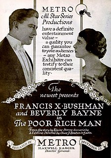 <i>The Poor Rich Man</i> 1918 American film directed by Charles Brabin