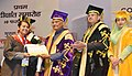 The President, Shri Ram Nath Kovind presenting the certificates to the students, at the 1st Convocation of the National Institute of Food Technology Entrepreneurship & Management (NIFTEM), at Sonipat, in Haryana.jpg