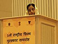 The President, Smt. Pratibha Devisingh Patil addressing at the 54th National Film Awards function, in New Delhi on September 02, 2008.jpg