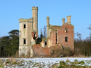 Haverholme Priory former monastery in Lincolnshire, England