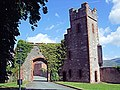 The Ruthin Castle Gatehouse - North Wales. (14674736446).jpg