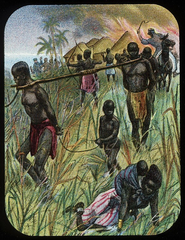 File:The Slave Gang (relates to David Livingstone) by The London Missionary Society.jpg